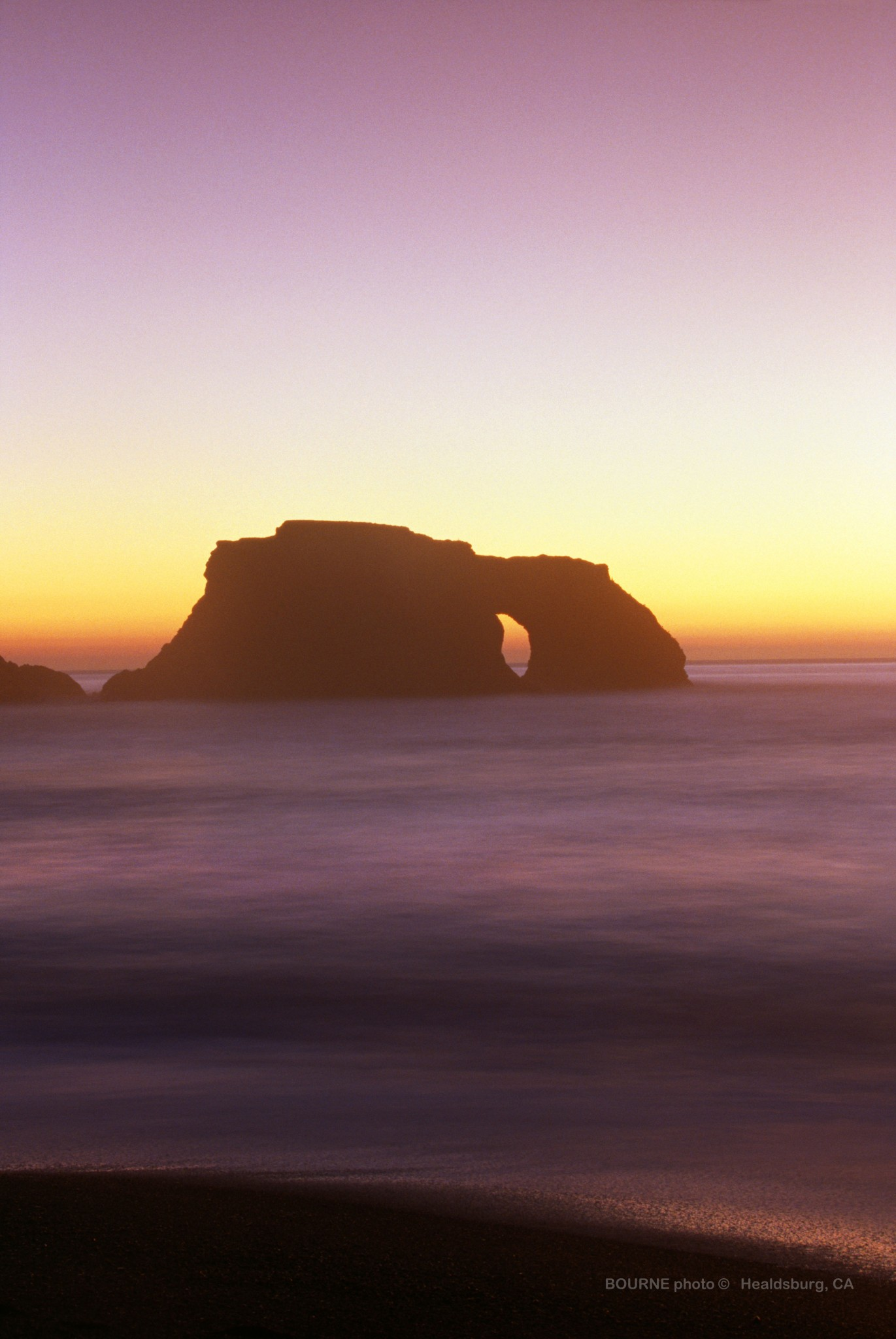 Coastal Sunset, Goat Rock Sonoma Coast