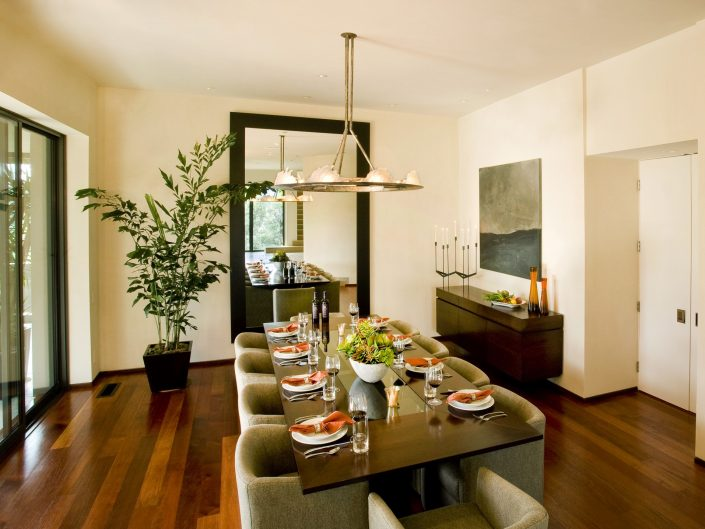 set dining room table modern home