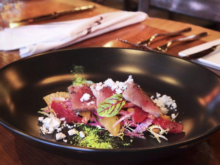 sashimi meal