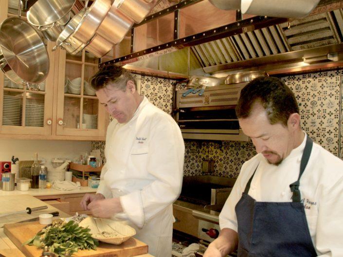 Jordan Chefs prepare dinner
