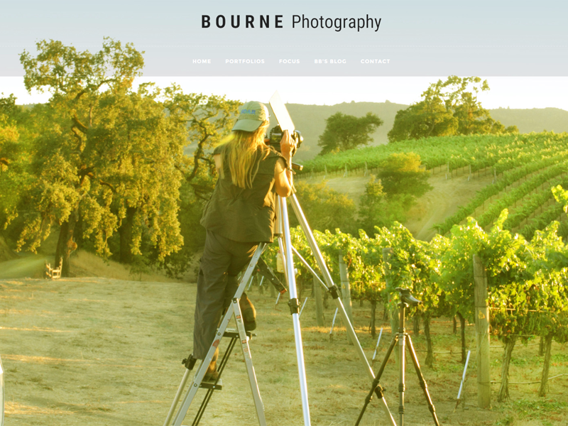 Welcome to Bourne Photography's New Website
