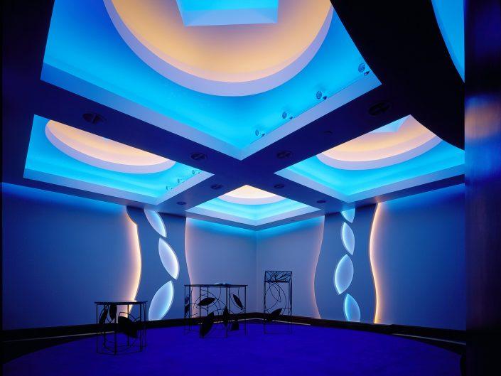Neon Meditation Space