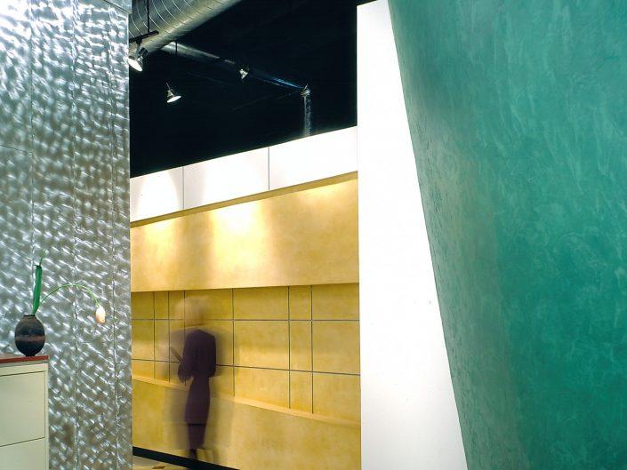 Modern Office Hallway